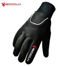 1Pair BOODUN Winter Fishing Gloves Outdoor Sports Anti-Slip Professional Warm fleece Gloves Hiking Gloves Sports & Entertainment