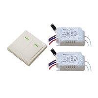 AC 220V Motor Remote Controller Wireless Remote Switch RF RC Wireless Radio Switch Manual Remote Switch