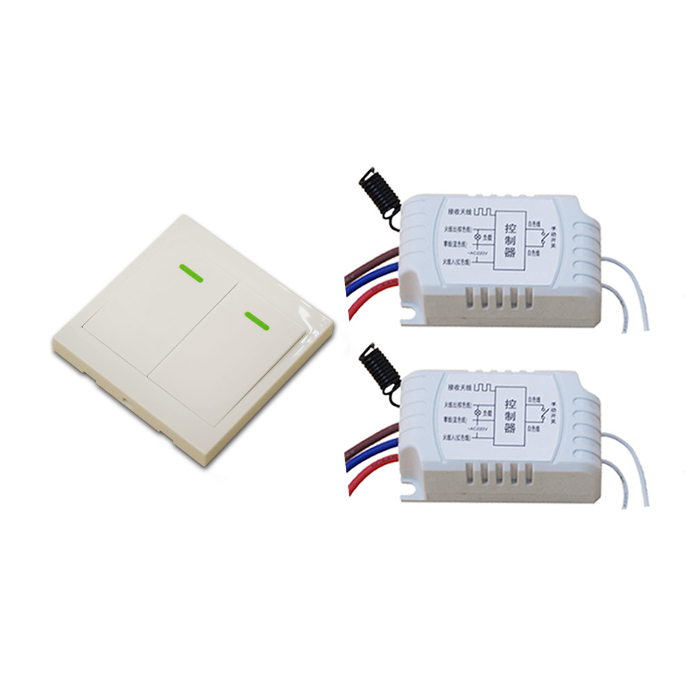 AC 220V Motor Remote Controller Wireless Remote Switch RF RC Wireless Radio Switch Manual Remote Switch For Curtain Door Light manual wireless smart remote control 1ch switch for led lamp ac 220v remote switch electrical curtain light wireless switch