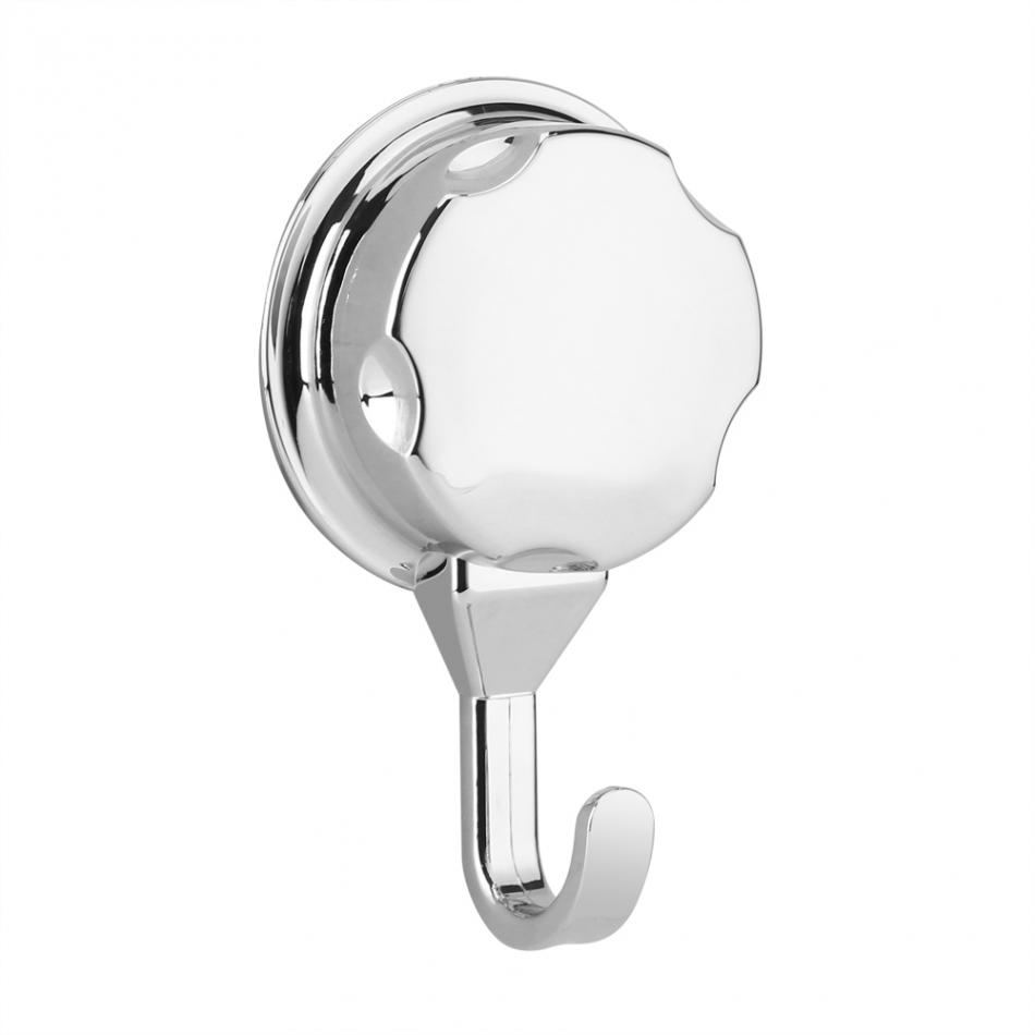 3Pcs/Set Multi-function Sucker Hook Chromed Suction Kitchen Towel Hook Bathroom Accessories Wall Hook Kitchen Holder Hanger