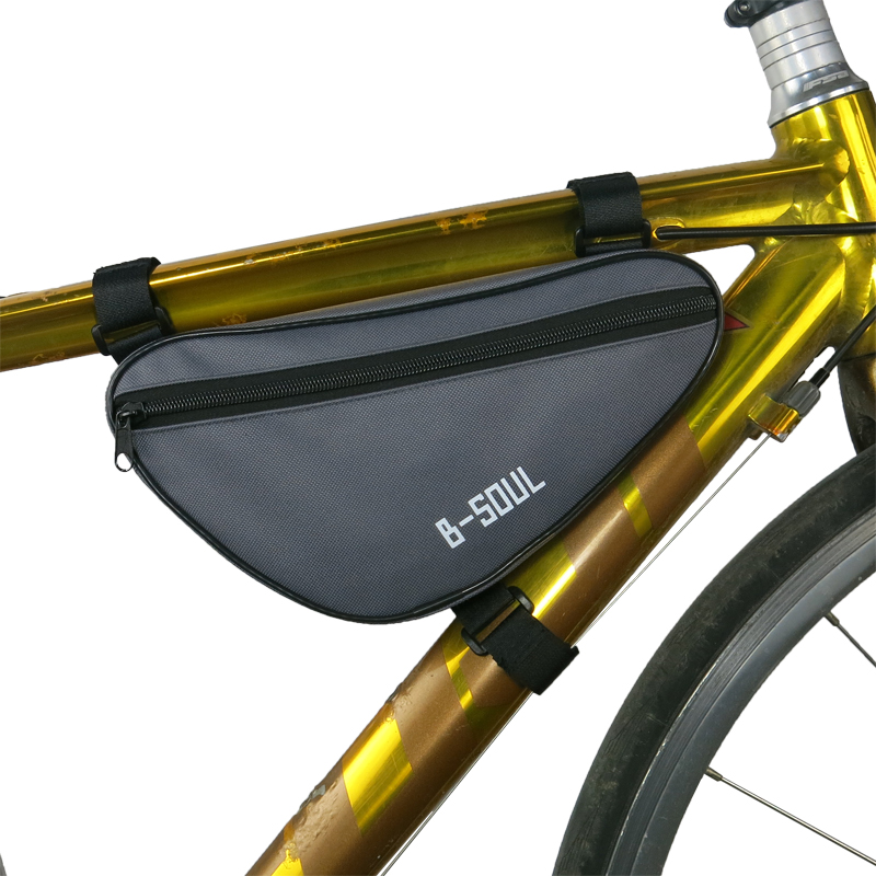 hot cycling front bag waterproof outdoor triangle bicycle front tube frame bag mountain bike pouch bike
