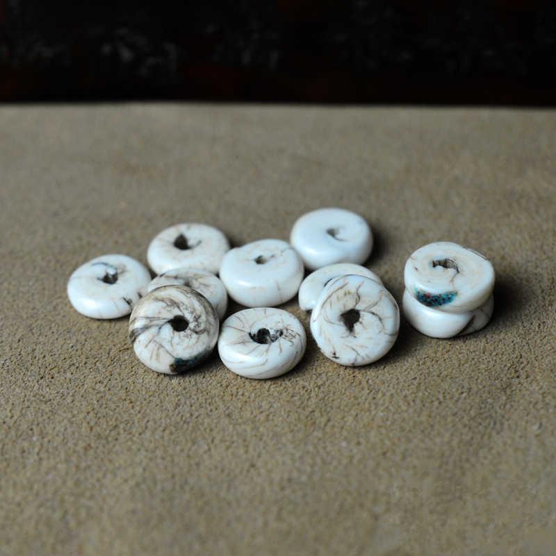 Sacred Chank Shell Beads Nepal 30 Inch 106699