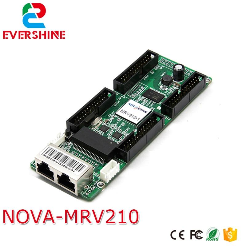 Novastar MRV210-1 LED che riceve la carta di RGB LED display scheda di ricezione sincrona CE-EMC standard MRV210Novastar MRV210-1 LED che riceve la carta di RGB LED display scheda di ricezione sincrona CE-EMC standard MRV210
