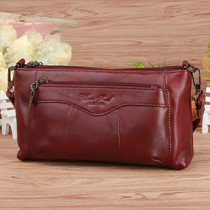 6 colors fashion casual women bags 100% genuine leather women messenger bags first layer cowhide shoulder bags crossbody bags qiaobao 100% genuine leather women s messenger bags first layer of cowhide crossbody bags female designer shoulder tote bag