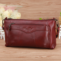 6 colors fashion casual women   bags   100% genuine leather women messenger   bags   first layer cowhide shoulder   bags     crossbody     bags