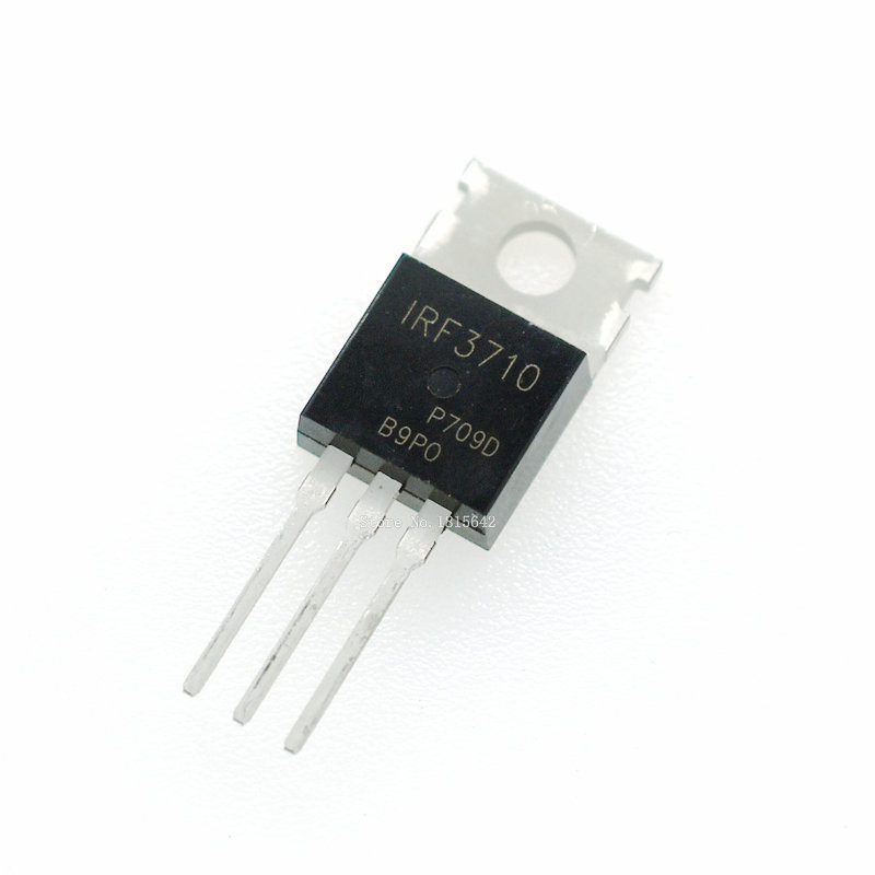 5PCS/LOT IRF3710 IRF3710PBF MOSFET MOSFT 100V 57A TO-220 New Triode