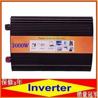 3000W pura sinus inverter Pure sine wave inverter 3000W 12V to 220V CE ROHS, PV Solar Inverter, Car Inverter Converter