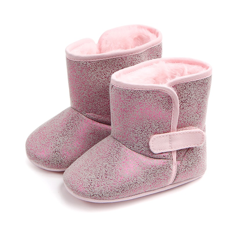 Baby High Tube Boots Winter Fashion Child Girls Snow Shoes Warm Plush Soft Bottom Baby Girls Boots Winter Snow Boot For Baby HOT