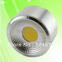Factory Wholesale Price Dimmable 9W 12W 15W COB LED Ceiling Light High Brightness Cool White Warm