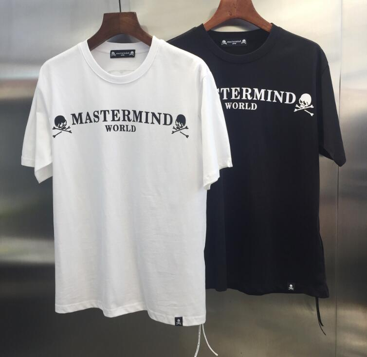 19ss TOP Summer Mastermind Japan World Collection Letter Printed Men Women MMJ Cotton T shirts Short sleeve Hip hop Fashion tees