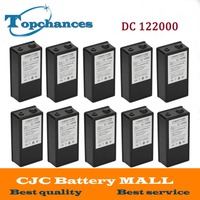 10PCS High Quality Super Rechargeable Portable Lithium Ion Battery With Case DC 12V 20000mAh DC 122000