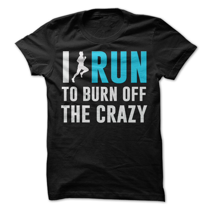 I To Burn Off The Crazy T Shirts for Men Bodybuilding Fitness Baumwollhemd Tee Shirts Mens Casual Dress Men T Shirt