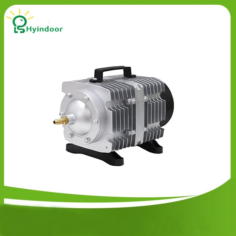 Aquarium Electromagnetic Air Compressor Pump Oxygen Aerator Tank High Power Impulse Pump Only for 220V