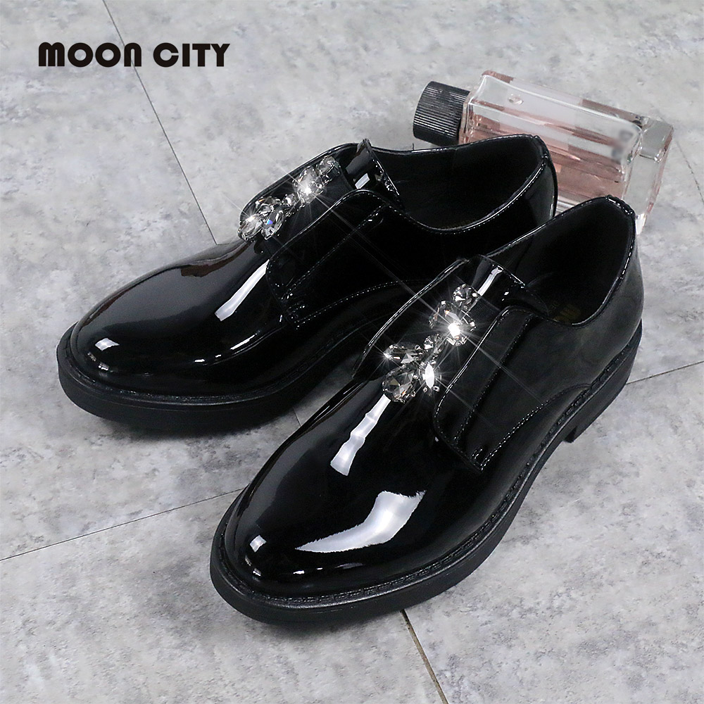 2019 New Style Woman Platform sneaker Lady Oxford Shoes Brand loafers lady Patent leather Footwear Black Casual Womens Flats2019 New Style Woman Platform sneaker Lady Oxford Shoes Brand loafers lady Patent leather Footwear Black Casual Womens Flats