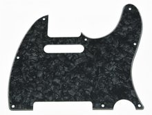 Brand new Black Pearl Tele Guitar Pickguard Scratch Plate for Fender Telecaster