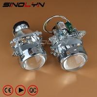 AL Headlight Bi Xenon Projector Lens D2S Replacement For 3 Serie BMW E46 Compact Pre Facelift