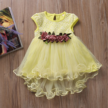 64a0117a2a Buy yellow dress baby and get free shipping on AliExpress.com