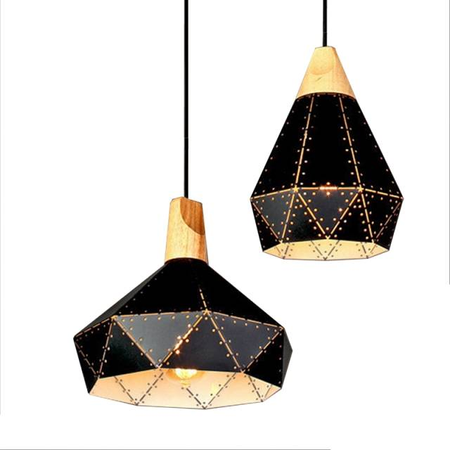 Pendant Lights Modern Lighting Lamps Diamond Shape Starry Metal Lamp For Kitchen Island Dinning Living Room Decoration