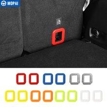 MOPAI ABS Interni Auto Tronco Gancio Cornice Decorazione Adesivi Copertura per Jeep Renegade 2015-2016 Accessori Auto Styling