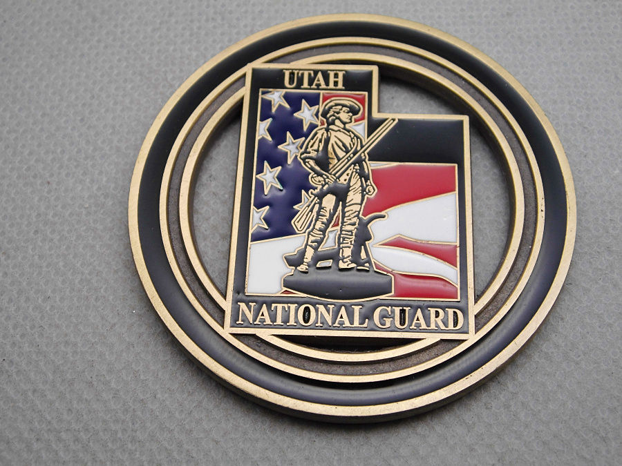 Cheap Custom metal coins High quality USA national guard challenge coin hot sales US zinc alloy FH810185
