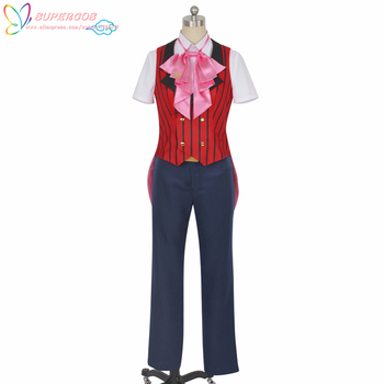 IDOLiSH 7 Kujo Tenn Halloween Christmas Suit Cosplay Costume ,Perfect Custom For you!