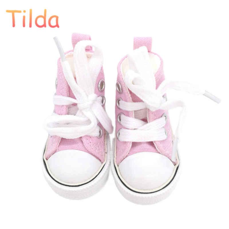 Тильда 6 см парусиновые кроссовки для кукол Paola Reina Minifee, мини-игрушка спортивная обувь 1/4 Bjd кукла спортивная обувь аксессуары для кукол игрушки