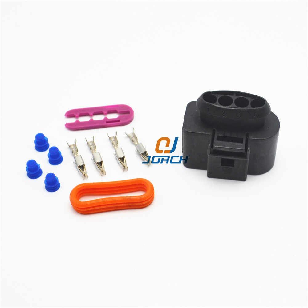 4-контактный 3,5 серия AUDI VW Skoda VAG автомобильный катушка удлинитель адаптер Электрический провод разъем 1J0973724