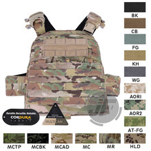 Emerson Tático Colete Adaptativo AVS AVS EmersonGear Body Armor Plate Carrier Harness + Placa MOLLE Pouch Set + Frente Flap(China)