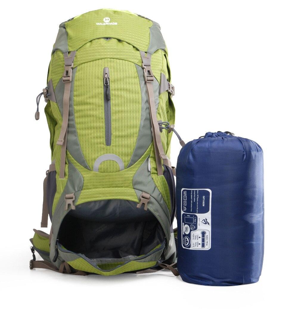 Maleroads haute qualité professionnel escalade sac à dos voyage sac à dos Trekking sac à dos Camp équipement randonnée Gear 50L 60L hommes femmes - 5