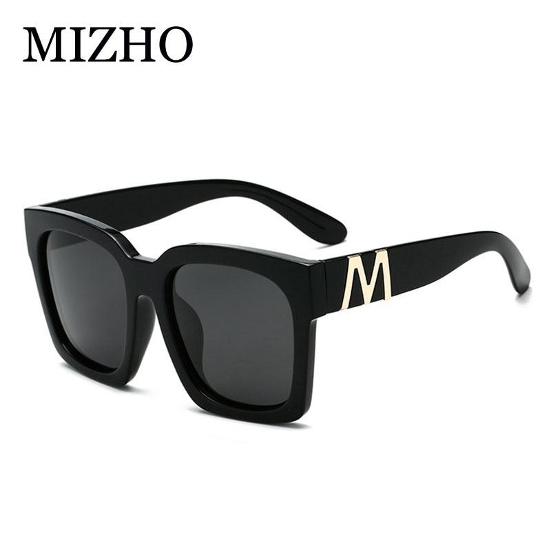 MIZHO Anti-Reflexivo Quadrados Óculos De Sol Dos Homens Polarizados HD  Visão Viagens Moda Mulher 73082f1d8c