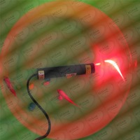 648nm 650nm 200mW Red Laser DOT Module Diode LD Adapter 22X120mm
