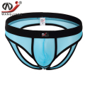 Men Transparent Mesh Thong 2017 Jockstrap Cueca Sous Vetement Homme Sexy Hot Low Waist Strings Wj Men Bikini Thong Underwear