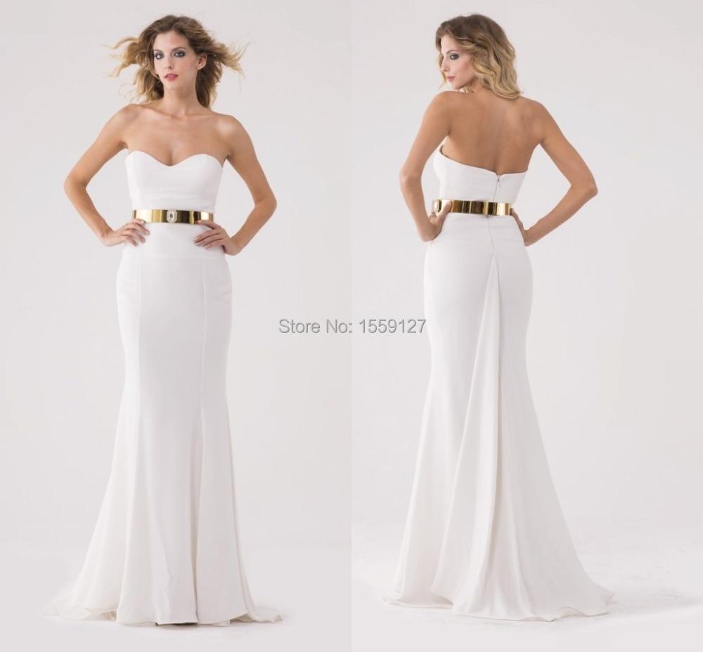 Online Get Cheap Simple White Prom Dresses -Aliexpress.com ...