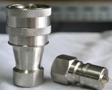 KZE3/8, 3/8 гидравлическая муфта, нержавеющая сталь материал, быстрого соединения, сцепное быстрая доставка