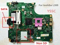 Para toshiba satellite l300 l305 motherboard notebook pc v000148370 6050a2264901-mb-a03 gl40 mainboard