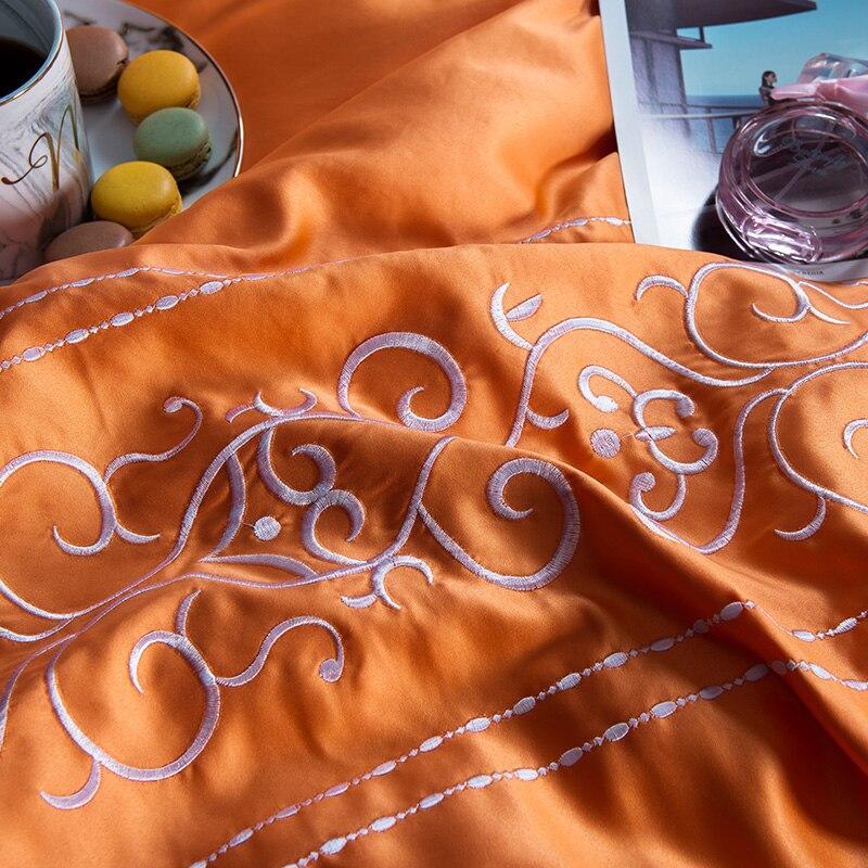 (9)  White silver cotton imitate silk luxurious Bedding Set queen king measurement mattress set Bedsheets linen Europe embroidery Quilt cowl set HTB1CKZwgLiSBuNkSnhJq6zDcpXa1