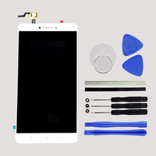 1PCS White MI Max LCD Display + Digitizer Touch Screen Replacement For Xiaomi Mi Max Cell Phone Parts + Tools