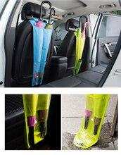 Автокресло сзади висит сумка зонтик рукава держатель складной Карамельный Цвет Авто Организатор зонт, сумка для хранения Салонные аксессуары