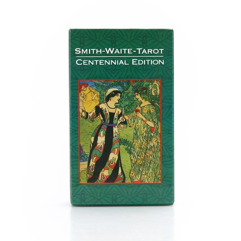 Tarot Deck Board Game Cards 78Pcs/Set Funny Cards Smith Full English Radiant Rider Wait Tarot Cards 10.5 Cm X 6.2 Cm X 2.5