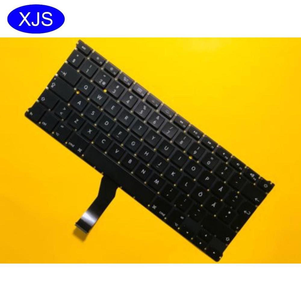 Brand New Swedish keyboard For font b Macbook b font Air 13 A1466 A1369 2011 2015