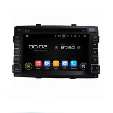 Fit for kia SORENTO 2011 Android 5.1.1 system 1024*600 car dvd player gps navigation radio 3G wifi bluetooth