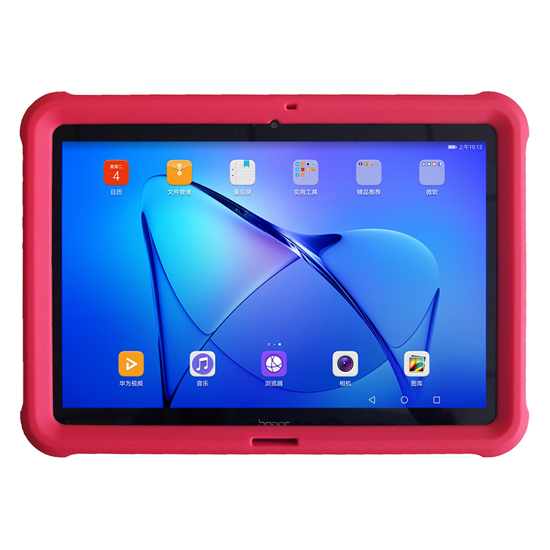 MingShore Rugged Silicone Tablet Cover For Huawei MediaPad T3 10 AGS-L09 AGS-W09 Kids Shockproof Case For Honor Play Pad 2 9.6 mingshore for teclast x80 hd 8 0 silicone soft case rugged shockproof kids cover for teclast x80 plus x80 pro p80 tablet