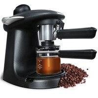 220 V кофеварка для приготовления эспрессо полуавтоматическая малые паровые все коммерческие капсулы Кофе машина домашние электроприборы