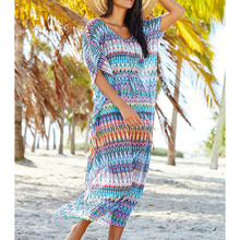 Chiffon długa plaża sukienka Sexy Beach Cover się strój kąpielowy pokrycie UPS Summer Beach sukienka strój kąpielowy pokrywa się Beachwear Pareo sarong tanie tanio sunforyou Pasuje do rozmiaru Weź swój normalny rozmiar Poliester Paisley Beach Long dress Beach cover up Bikini coverup