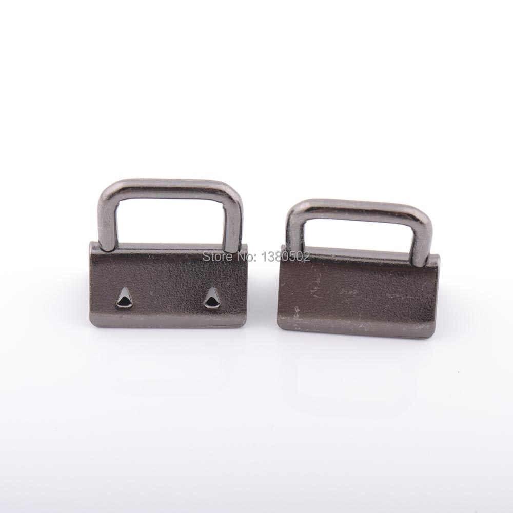 50 יח'\חבילה 20/25/30/32mm באיכות גבוהה מפתח Fob חומרת אבזמים עבור בד סרט חגורה חבל אביזרי