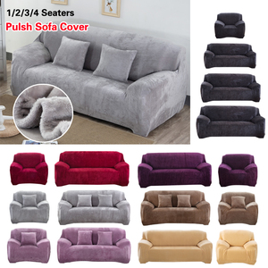 Image 3 - Sofa Cover Thick Plush All inclusive Sofa Covers for Living Room Soft Couch Cover Sofa Towel Slipcover 1/2/3/4 Seater cubre sofa