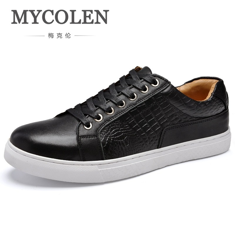 MYCOLEN New Arrival Spring Summer Comfortable Casual Shoes Mens Shoes For Men Lace-Up Brand Fashion Loafers Shoe Zapatos klywoo new white fasion shoes men casual shoes spring men driving shoes leather breathable comfortable lace up zapatos hombre