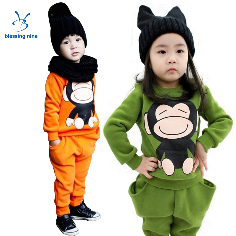 Toddler Girls Clothes Winter 3 Years Baby Girl Set Children Autumn Infant Boys Clothing Sets Long Sleeve Sports Suits 2Pcs winter autumn baby girls clothing sets cartoon dog long sleeve wweatshirts pant fleece newborn baby suits baby boys clothing set