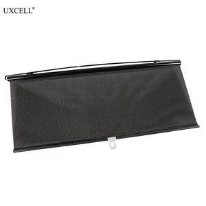 Uxcell Выдвижная Автомобильная боковая шторка для окон, 58 см x 125 см, солнцезащитный козырек, роликовая шторка, летняя Защитная пленка для окон