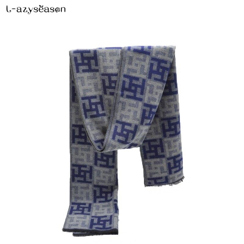 2018 hijab Men Scarf luxury brand designer unisex Classic Cashmere Scarf Winter Warm Soft Tassel fashion Shawl Scarves Wraps